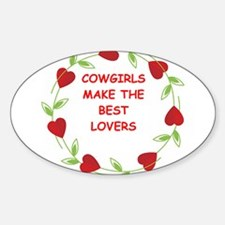 cowgirls Decal