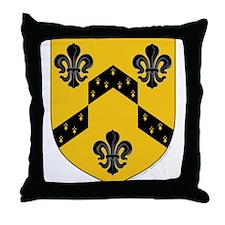 Crestina's Throw Pillow