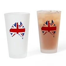 Poms in Oz Drinking Glass