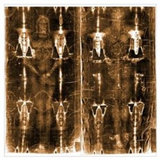 Shroud of Turin Wall Art Poster