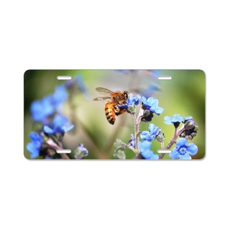 Forget-me-not 2401 - Aluminum License Plate