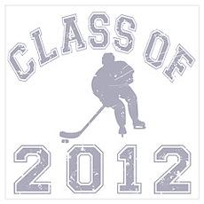Class Of 2012 Hockey Wall Art Poster