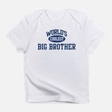 Funny Worlds coolest big brother Infant T-Shirt