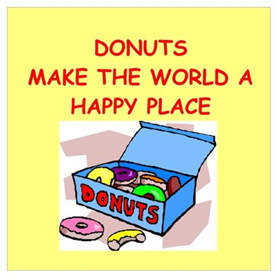 donuts gifts t-shirts Wall Art Canvas Art