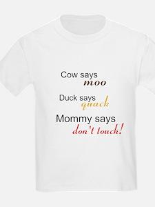 Cute Cow says moo T-Shirt