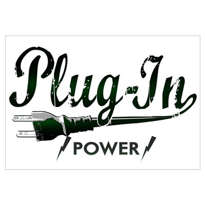 Plug-In Power Wall Art Canvas Art