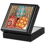Pysanky in Snow Keepsake Box