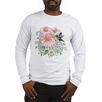 Coneflower Hummingbird Long Sleeve T-Shirt