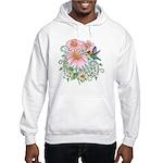 Coneflower Hummingbird Hooded Sweatshirt