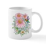 Coneflower Hummingbird Mug