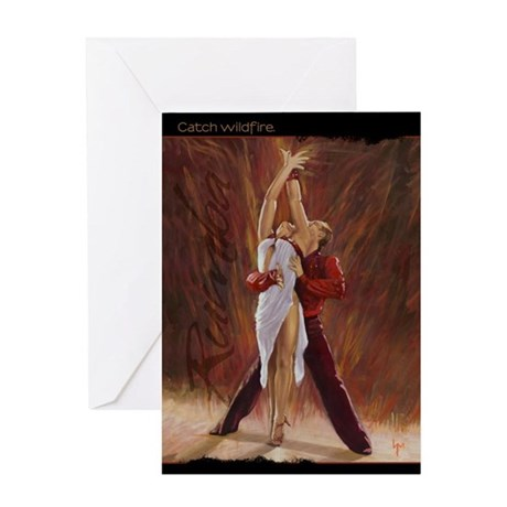 Catch Wildfire Greeting Card