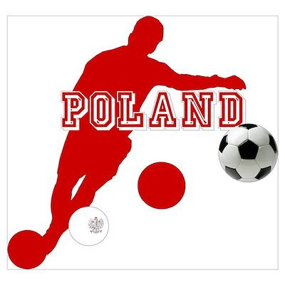 Polish Soccer Player Wall Art Poster