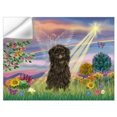 Cloud Angel / Affenpinscher Wall Art Wall Decal