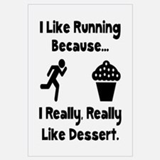 Running Dessert Wall Art