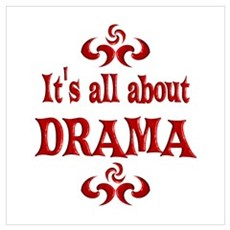 Drama Wall Art Canvas Art