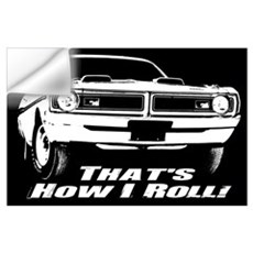 How I Roll - Dodge Demon Wall Art Wall Decal