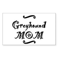 Greyhound MOM Decal