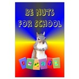Squirrel  for school Posters