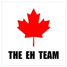 Canada The Eh Team Wall Art Canvas Art