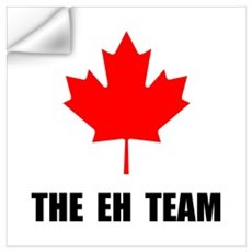 Canada The Eh Team Wall Art Wall Decal