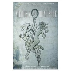 The Medusa vs The Odalisque mini poster Canvas Art