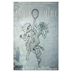 The Medusa vs The Odalisque mini poster Poster