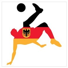 Germany Soccer Wall Art Poster