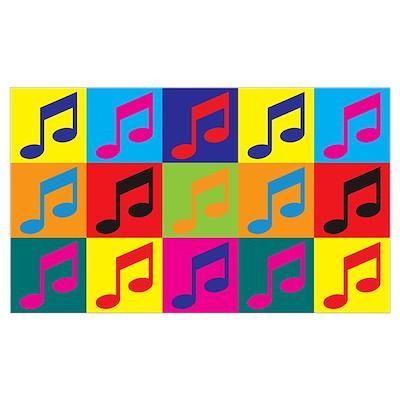 Orchestra Pop Art Wall Art Poster