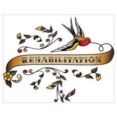 Rehabilitation Scroll Wall Art Poster