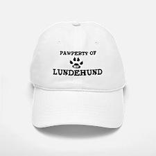 Pawperty: Lundehund Baseball Baseball Cap