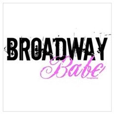 Broadway Babe Wall Art Poster