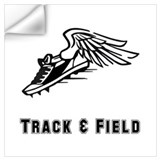 Track and field Wall Decals