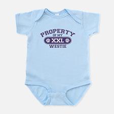 Westie PROPERTY Infant Bodysuit