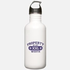 Westie PROPERTY Water Bottle
