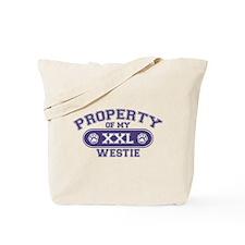 Westie PROPERTY Tote Bag