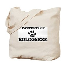 Pawperty: Bolognese Tote Bag