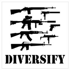Diversify Wall Art Poster