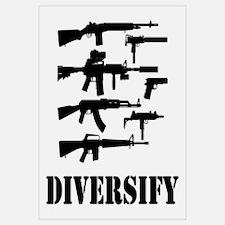 Diversify Wall Art