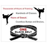 Black belt Posters