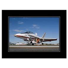 F18 TPS 18x24 Poster Canvas Art
