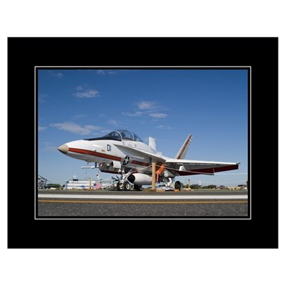 F18 TPS 18x24 Poster Poster
