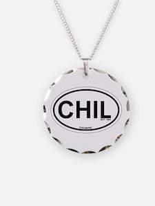 Chilmark MA - Oval Design. Necklace