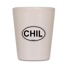 Chilmark MA - Oval Design. Shot Glass