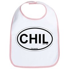 Chilmark MA - Oval Design. Bib