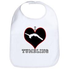 I Love Tumbling Bib