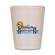 "Chilmark MA ""Pier"" Design Shot Glass"