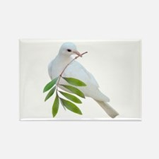 Dove Olive Branch Rectangle Magnet