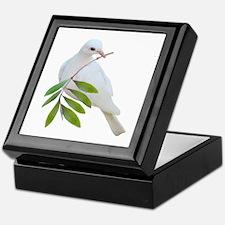 Dove Olive Branch Keepsake Box