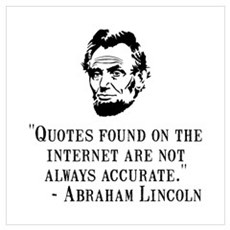 Lincoln Internet Wall Art Framed Print