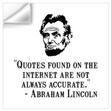 Lincoln Internet Wall Art Wall Decal